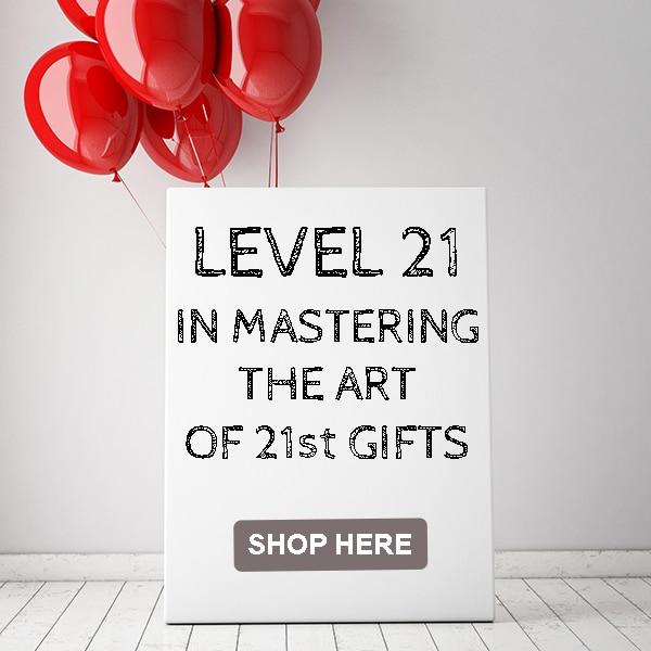 21st birthday gift master