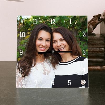 21st birthday photo clock